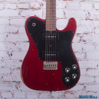 Friedman Vintage T Electric Guitar Trans Red Aged