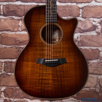 2015 Taylor K24ce Grand Auditorium Acoustic Electric Guitar Koa