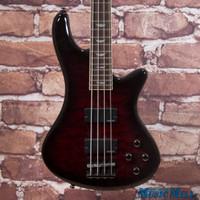 Schecter Stiletto Extreme 4 Bass Guitar Black Cherry
