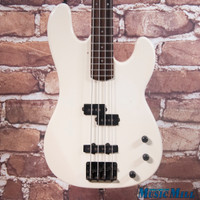 '80s Schecter Strategy P/J Bass Guitar White