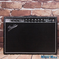 Fender Limited Edition '65 Deluxe Reverb Tube Guitar Combo Amp Black Western