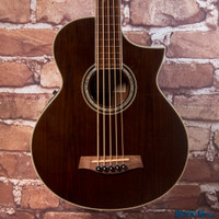 Ibanez EWB205WNE Exotic Wood 5 String Fretless Acoustic Electric Bass