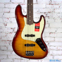 Fender Limited Edition Exotic Collection American Professional Jazz Bass FMT Aged Cherry Burst