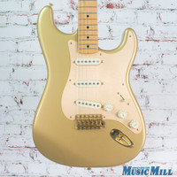 2004 Fender 50th Anniversary Stratocaster Electric Guitar Aztec Gold