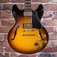 2015 Gibson Memphis 1964 ES-345TD Semi-Hollow Electric Guitar Historic Burst