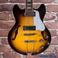 2013 Gibson Memphis ES-390 Figured Hollowbody Electric Guitar Vintage Sunburst 3730