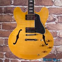 2016 Gibson Memphis ES-335 Figured Semi-Hollow Electric Guitar Natural 7719