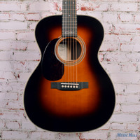 Martin 000-28EC Eric Clapton Signature Left Handed Sunburst Acoustic Guitar Natural