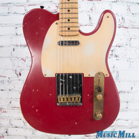 Schecter Parts Tele Electric Guitar Relic Red
