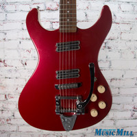 Danelectro Hodad with Bigsby Electric Guitar Red Sparkle