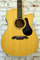New B-Stock Alvarez AF60CE Acoustic Electric Guitar Natural