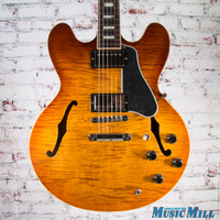 2016 Gibson Memphis ES-335 Figured Semi Hollow Electric Guitar Faded Lightburst 6735