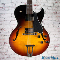 2016 Gibson ES-175 Figured Hollowbody Electric Guitar Vintage Sunburst 7703