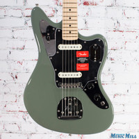 Fender American Professional Jaguar Electric Guitar Antique Olive