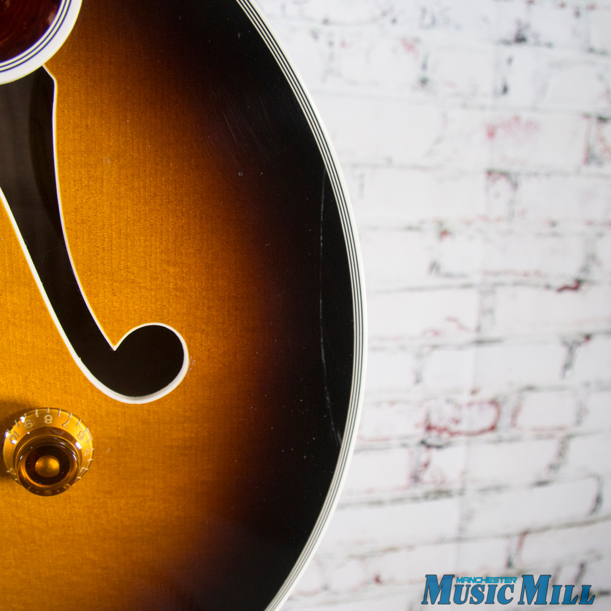 1992 Gibson L-5 Custom Wes Montgomery Hollowbody Electric Guitar Vintage Sunburst