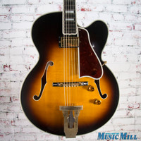 1992 Gibson L-5 Custom Wes Montgomery Hollowbody Electric Guitar Vintage Sunburst