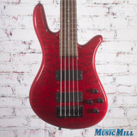 Spector NS-2000/5 5 String Bass Guitar Red Quilt