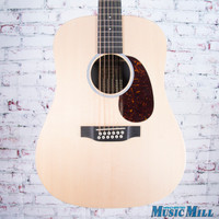Martin D12X1AE 12-String Acoustic Electric Guitar Natural