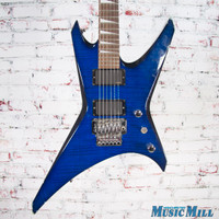 Jackson Warrior Electric Guitar Blueburst