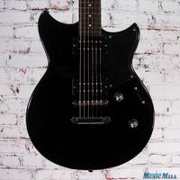 Yamaha Revstar RS320 Electric Guitar Black Steel
