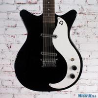 Danelectro Vintage 12 String Electric Guitar Black