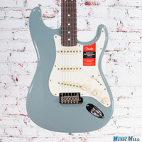 Fender American Professional Stratocaster Electric Guitar Sonic Gray