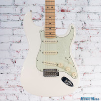 Fender Deluxe Roadhouse Stratocaster Electric Guitar Olympic White