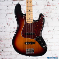 2015 Fender American Standard Jazz Bass 3-Color Sunburst