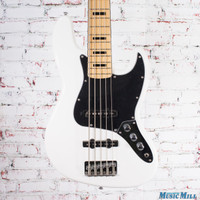 Squier Vintage Modified Jazz Bass V Olympic White