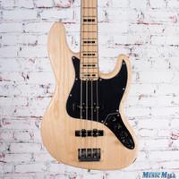 2016 Fender American Elite Jazz Bass Natural Ash MN