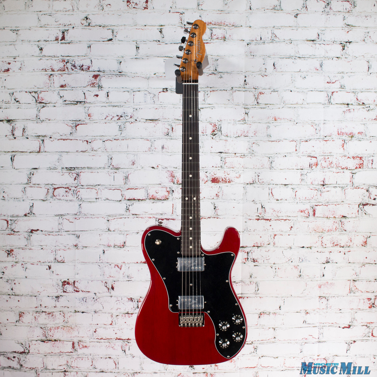 Fender Limited Exotic Series American Professional Mahogany Telecaster Deluxe Shawbucker Crimson Red
