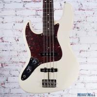 Fender Japan Left Handed '62 Reissue Jazz Bass Olympic White