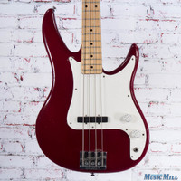 Peavey USA Patriot Bass Guitar Burgundy
