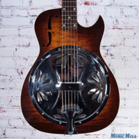 2001 Dobro DW90c Resonator Acoustic Electric Guitar Sunburst