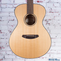 B-Stock Breedlove Discovery Concert LH Left-Handed Acoustic Guitar Natural