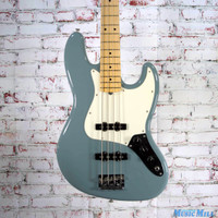 Fender American Professional Jazz Bass Electric Bass Maple Neck Sonic Gray