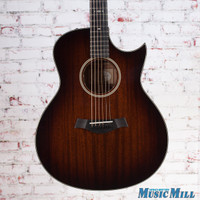 Taylor 526ce Florentine Grand Symphony Acoustic Electric Guitar Shaded Edgeburst