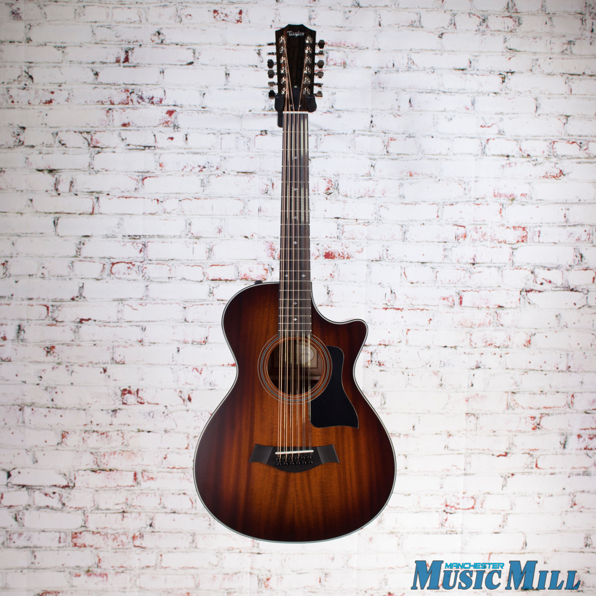 Taylor 362ce 12 String 12 Fret Grand Concert Acoustic Electric Guitar Shaded Edgeburst