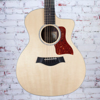 2017 Taylor 254ce DLX 12-String Acoustic Electric Guitar Natural