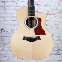 2017 Taylor 254ce DLX 12 String Acoustic Electric Guitar Natural 7468