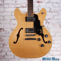 Guild Starfire IV USA Reissue Semi-Hollow Electric Guitar Natural