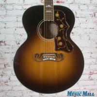 2015 Gibson SJ200 Acoustic Electric Guitar Vintage Sunburst wOHSC