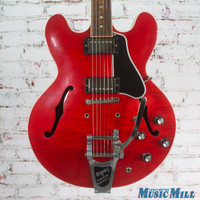 2014 Gibson ES335 Figured Electric Guitar Cherry w Bigsby