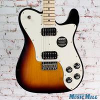 Fender Deluxe Telecaster Electric Guitar 3 Color Sunburst