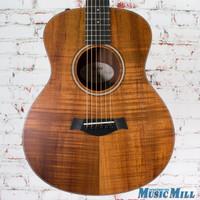 2017 Taylor LTD GS Mini e AA Koa Acoustic Electric Guitar Natural