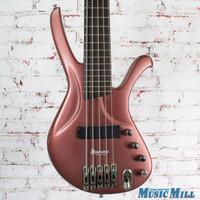 Ibanez Ergodyne EDA905 5 String Electric Bass Purple Metallic