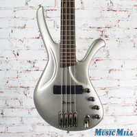 Ibanez EDA900 Ergodyne 4-String Electric Bass Silver Metallic