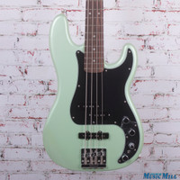 Fender Deluxe Active Precision Bass Special Electric Bass Surf Pearl