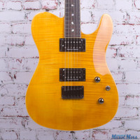 Fender Special Edition Custom Telecaster FMT Electric Guitar Amber