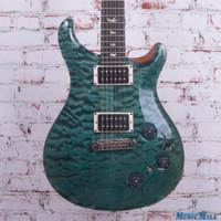 015 PRS P22 10 Top Electric Guitar Trampas Green Rosewood Neck
